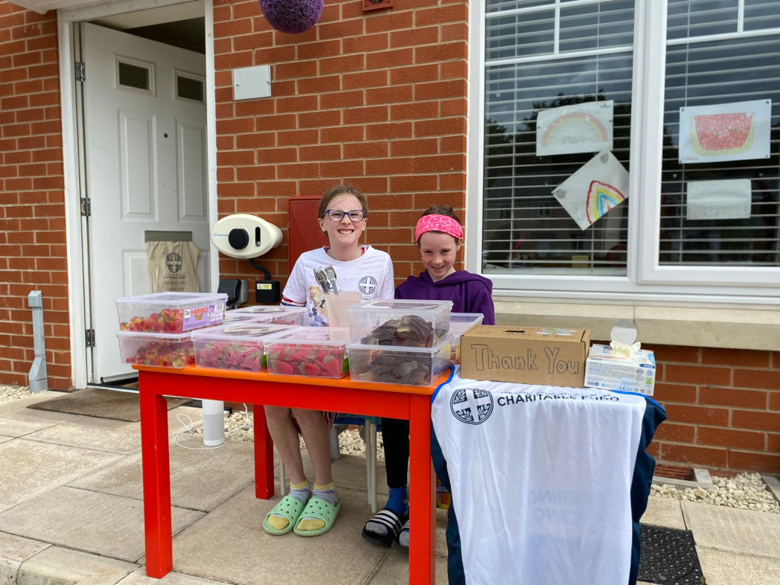 Young patient raises vital funds for hospital charity