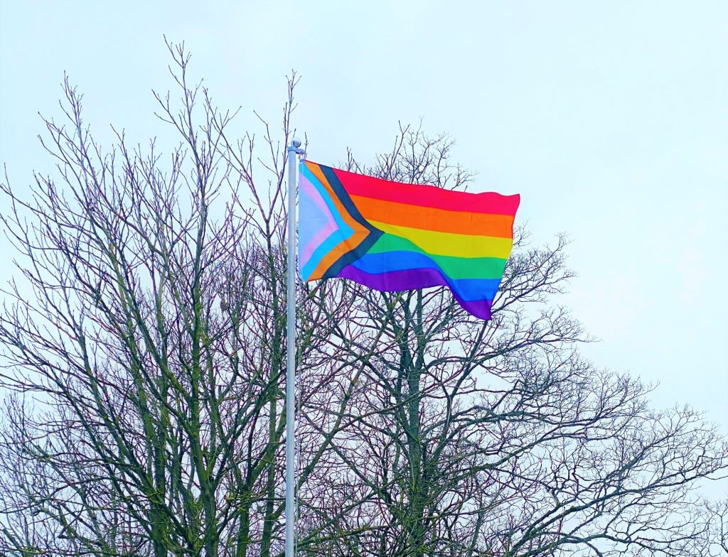 ROH flying the flag for LGBT+ History Month