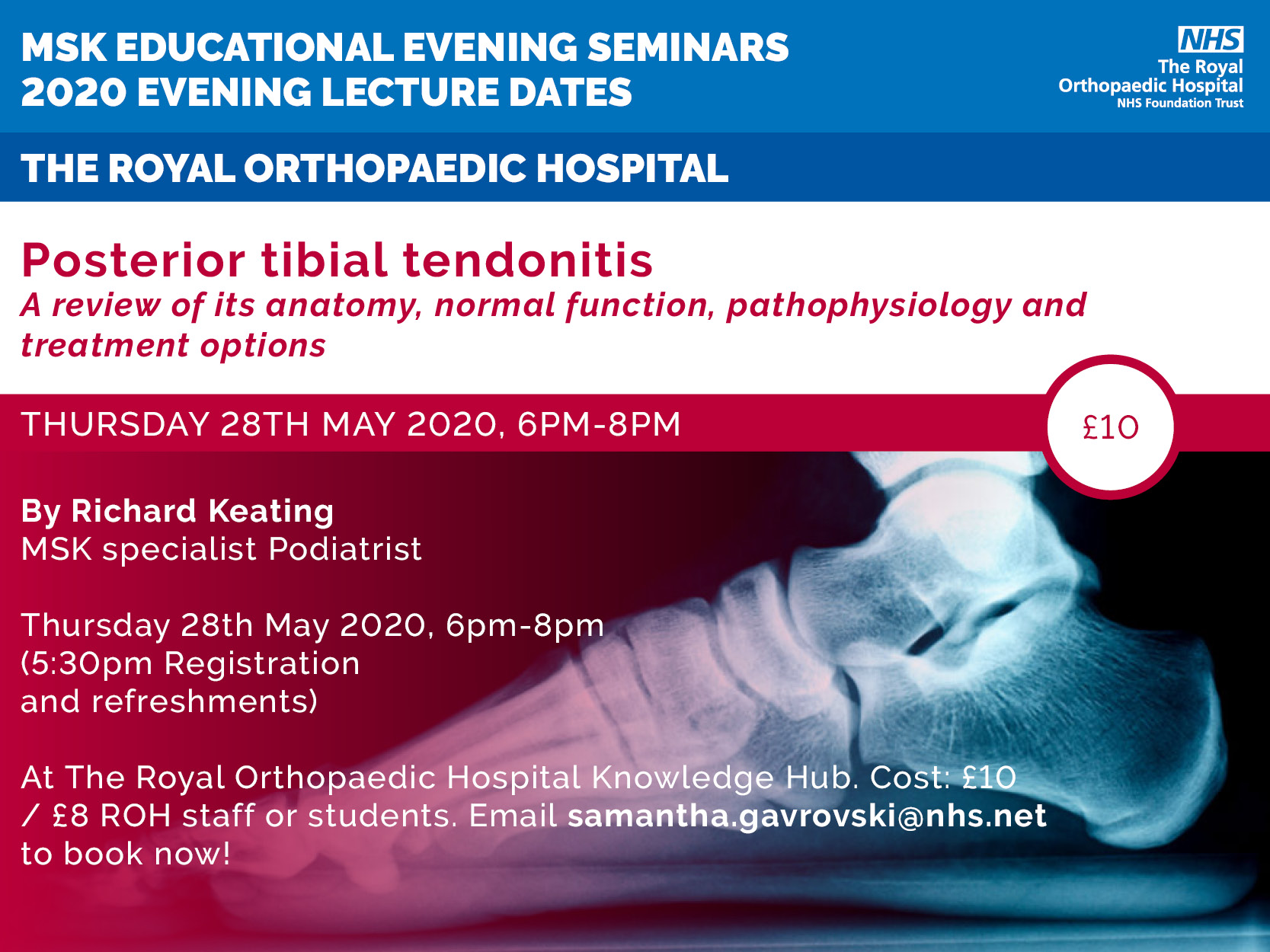 MSK evening lectures