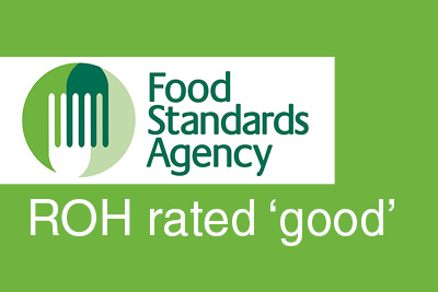 The FSA rate our food hygiene as 'good'