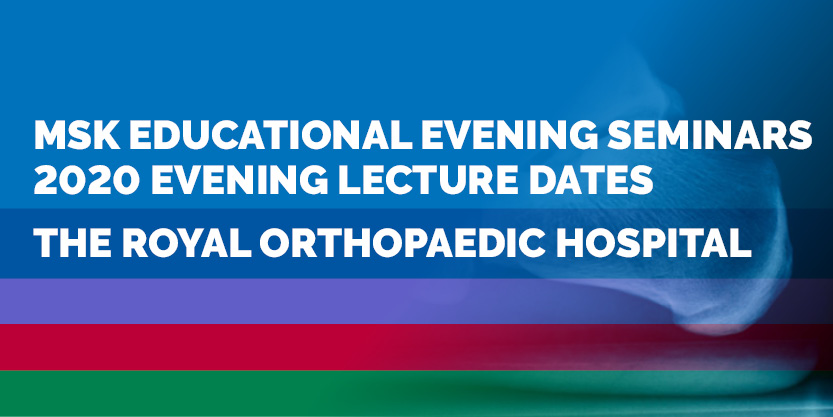 MSK evening lecture series 2020