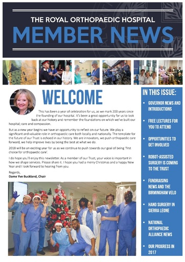 Member News Winter 2018