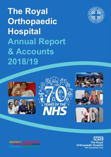 Annual Report and Accounts 2018/19