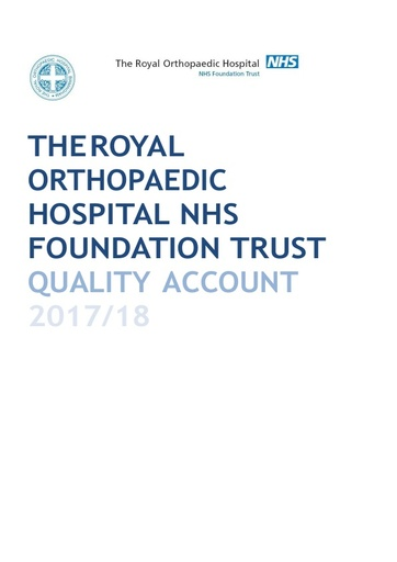 Annual report and Accounts 2016/17