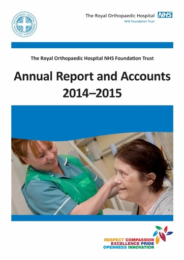 Annual report and Accounts 2014/15