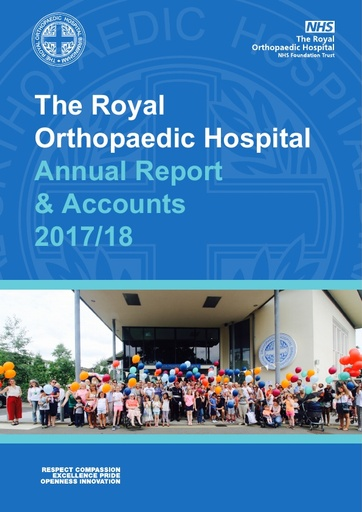 Annual Report and Accounts 2017/18