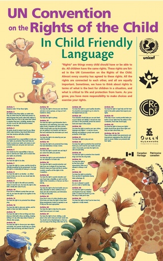 UN Convention on theRights of the Child In Child Friendly Language
